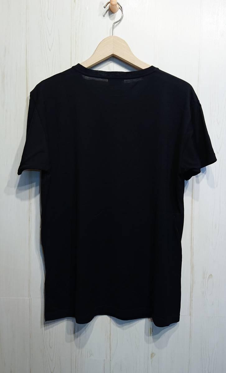 SAINT LOURENT PARIS サンローランパリ エディ期 TV Tシャツ ルーズシルエット エディスリマン イタリア製 国内正規品_画像2