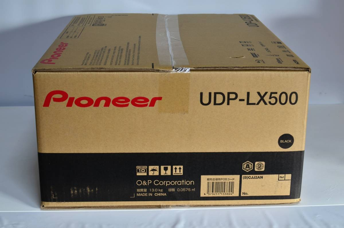 ☆未開封新品☆Pioneer UDP-LX500 ユニバーサルディスクプレーヤー_画像3