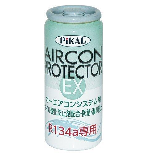 PiKAL(日本磨料工業)添加剤 エアコンプロテクターEX 30ml 送料無料 (強化剤 オイル酸化防止 防錆 漏れ防止 パワーエアコン)_画像1