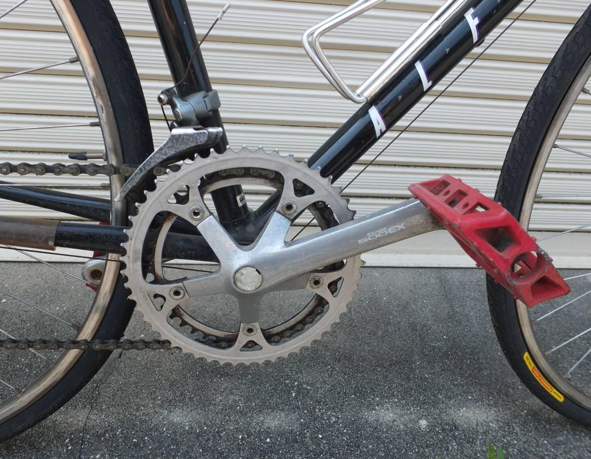 ミヤタ・アルフレックス MIYATA ALFREXアルミ ロードバイク 522サイズ 現状品_画像6
