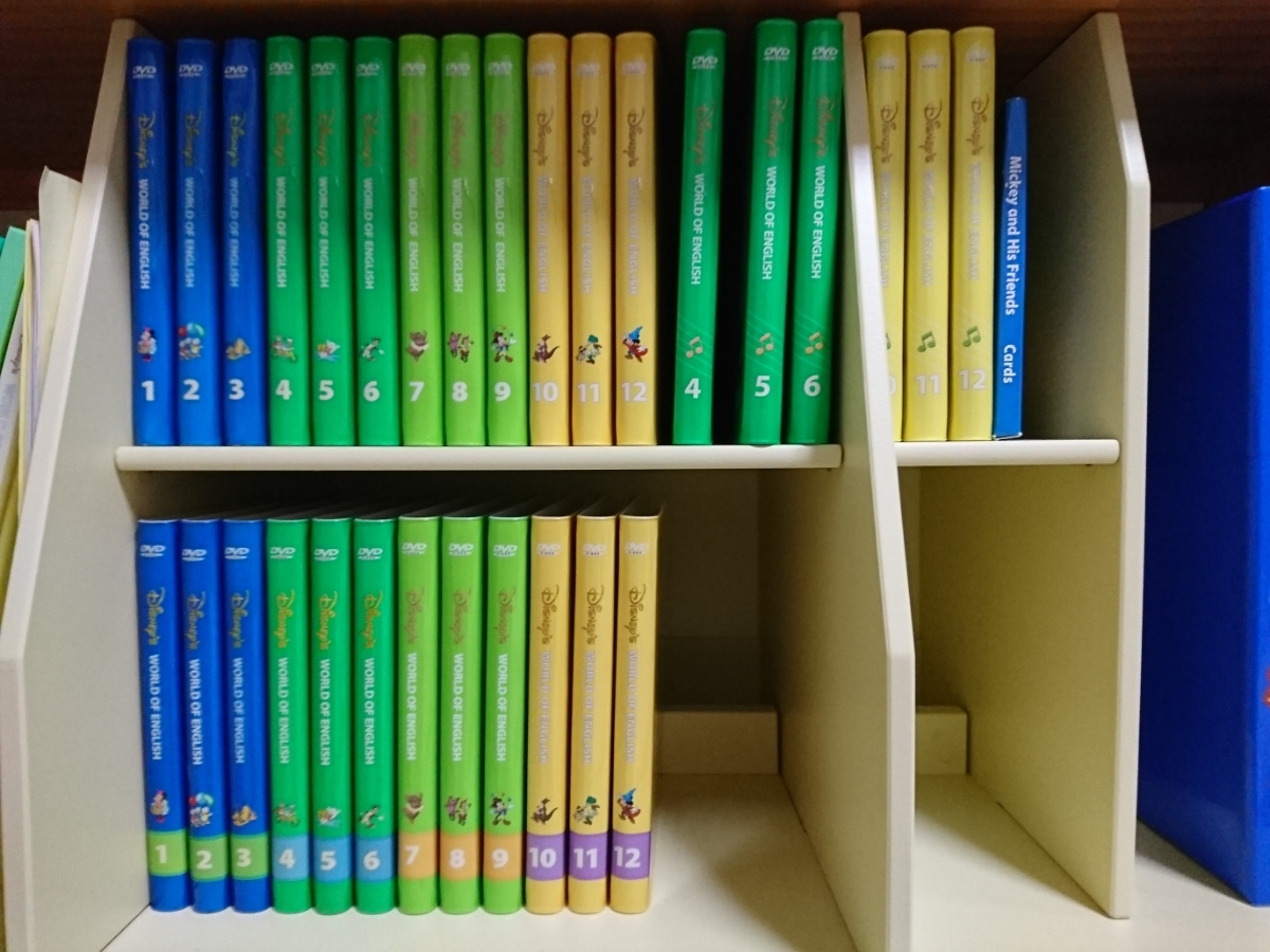 【中古】英語システムセット ミッキー ディズニーワールドオブイングリッシュ 英語教材 知育 子ども英語 Disney's world of English_画像3