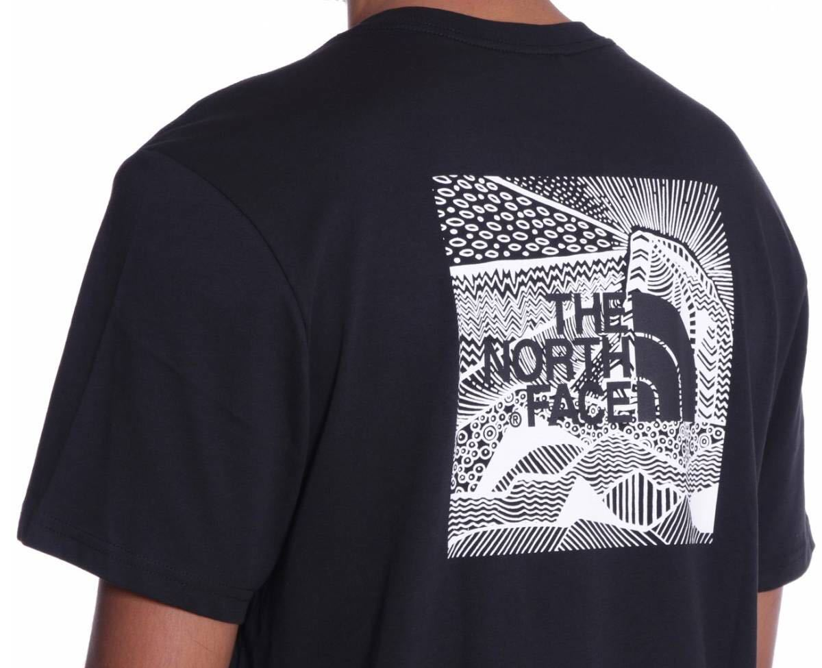 1円~新品正規品☆The North Face T-shirt☆ノースフェイスTシャツ☆THE NORTH FACE Redbox Celebration☆TNF BLACK/WHITE☆XLサイズ_画像5