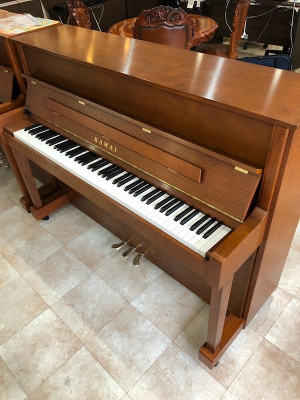 ピアノ カワイ C-380RG 定価約70万円!木目・高級グレード!2年間のみレンタル貸し出しの美品!売り切りの為、1円スタート!!