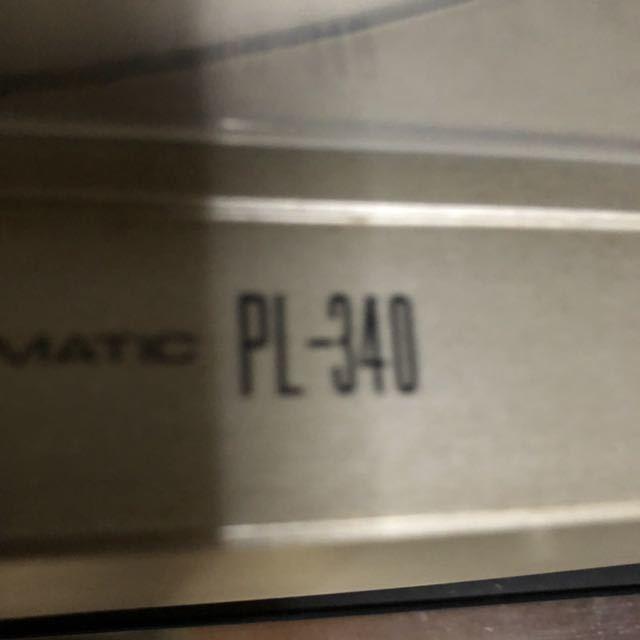 パイオニア SC-1500Ⅱステレオプリアンプ TX-1500Ⅱチューナー SM-1500Ⅱパワーアンプ CT-720カセットデッキ PL-340レコードプレーヤー_画像4