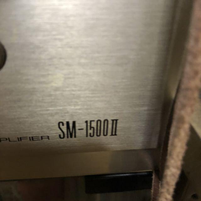 パイオニア SC-1500Ⅱステレオプリアンプ TX-1500Ⅱチューナー SM-1500Ⅱパワーアンプ CT-720カセットデッキ PL-340レコードプレーヤー_画像7