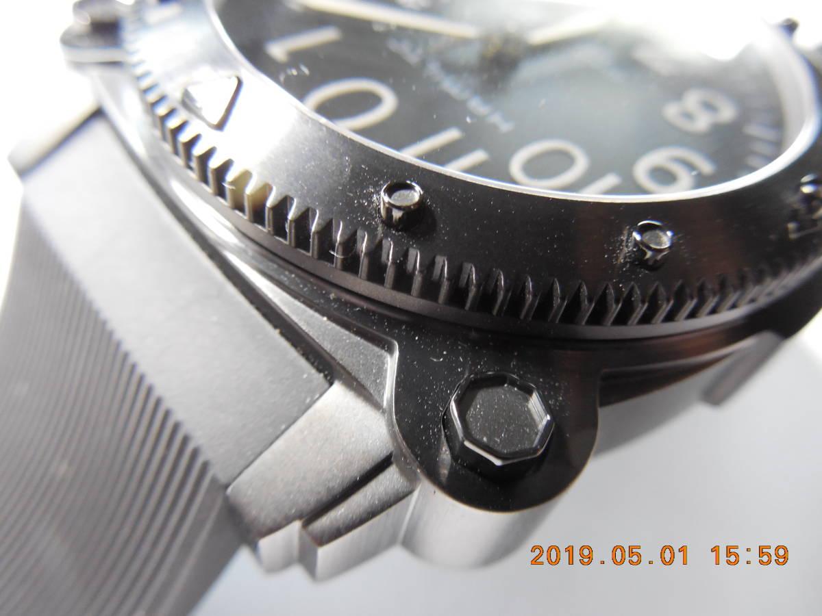 新品 未使用品 ハミルトン カーキビロウゼロ H78585333 1,000m(100気圧)防水_画像5