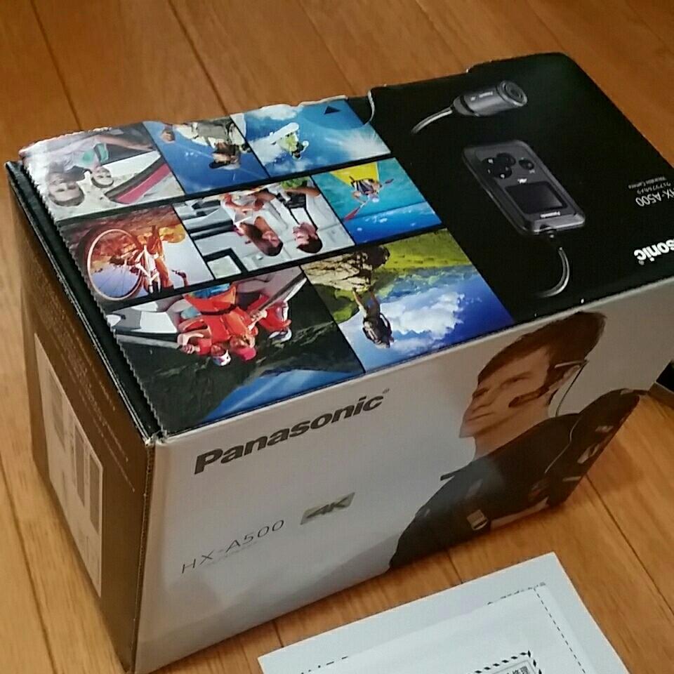 Panasonic ウェアラブルカメラHX-A500アクションカメラ/中古品/ゴープロ_画像6