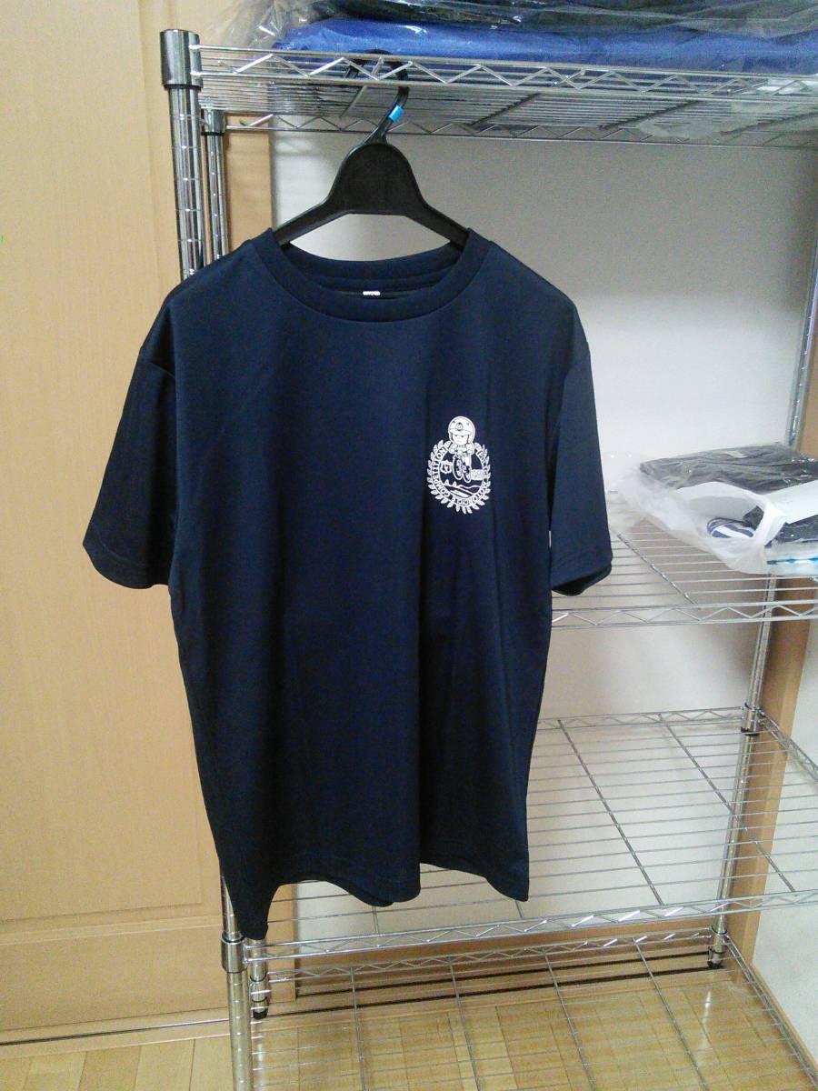 第49回全国白バイ安全運転競技大会 開催記念限定Tシャツ LLサイズ/ネイビー(新品)