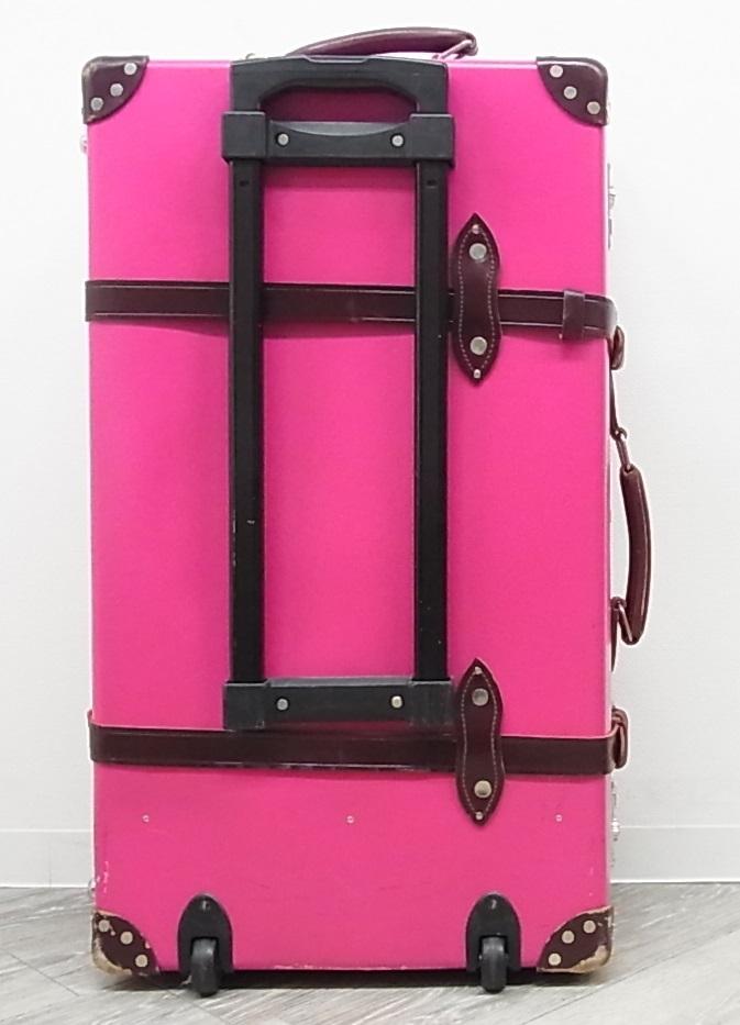 GLOBE TROTTER グローブトロッター センテナリー 28インチ スーツケース キャリーバッグ ピンク 正規品_画像2