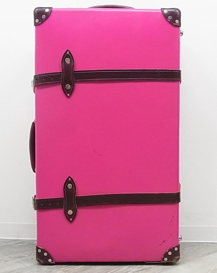 GLOBE TROTTER グローブトロッター センテナリー 28インチ スーツケース キャリーバッグ ピンク 正規品