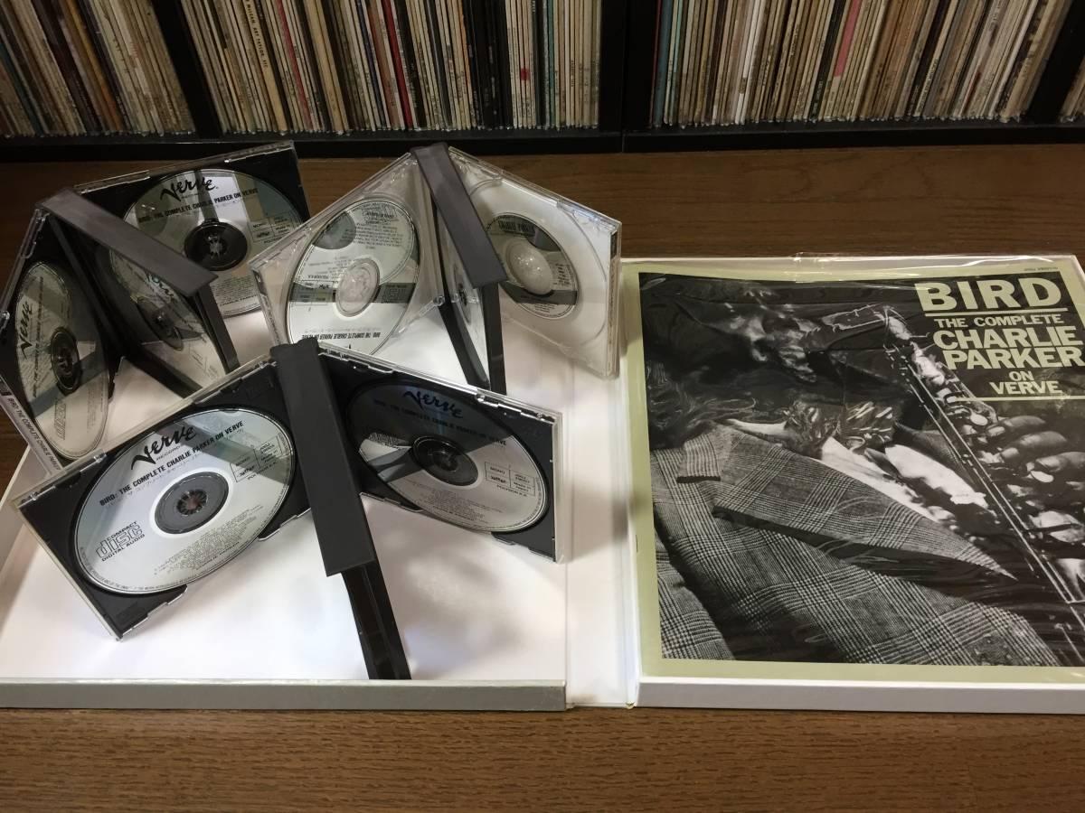 限定ナンバー付き「BIRD」The Complete Charlie Parker On Verve 国内盤CD11枚BOXセット!全175曲!世界初登場ボーナスCDシングル付き!_画像4