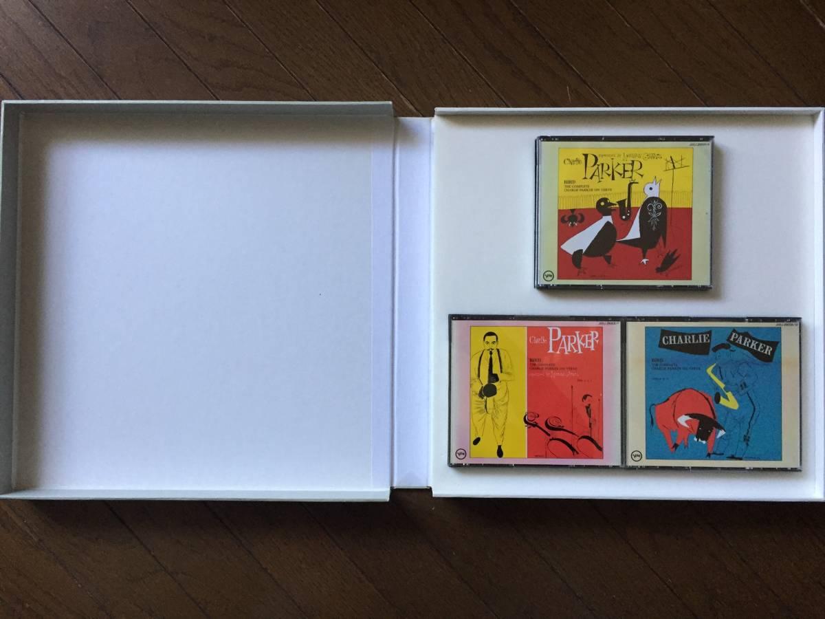 限定ナンバー付き「BIRD」The Complete Charlie Parker On Verve 国内盤CD11枚BOXセット!全175曲!世界初登場ボーナスCDシングル付き!_画像7