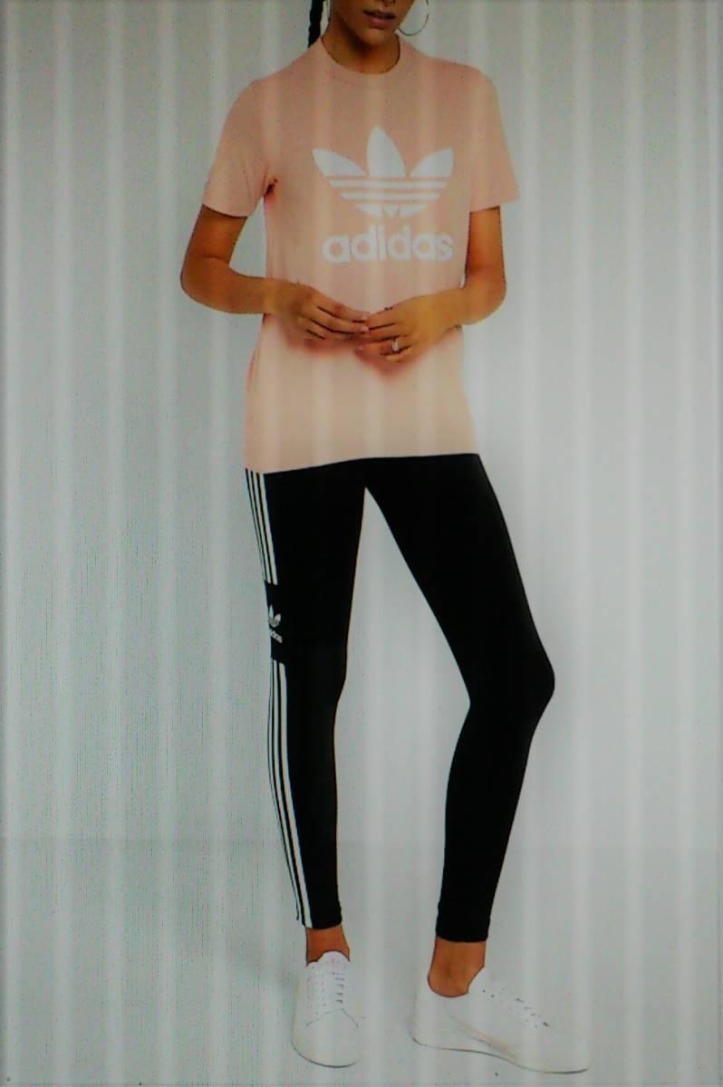 完売・Sサイズ・アディダスジャパン正規・新品タグ付・アディダス オリジナルス adidas トレフォイルタイツ DV2636・送料¥185_画像4
