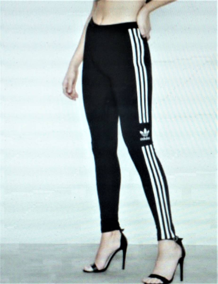 完売・Sサイズ・アディダスジャパン正規・新品タグ付・アディダス オリジナルス adidas トレフォイルタイツ DV2636・送料¥185_画像5
