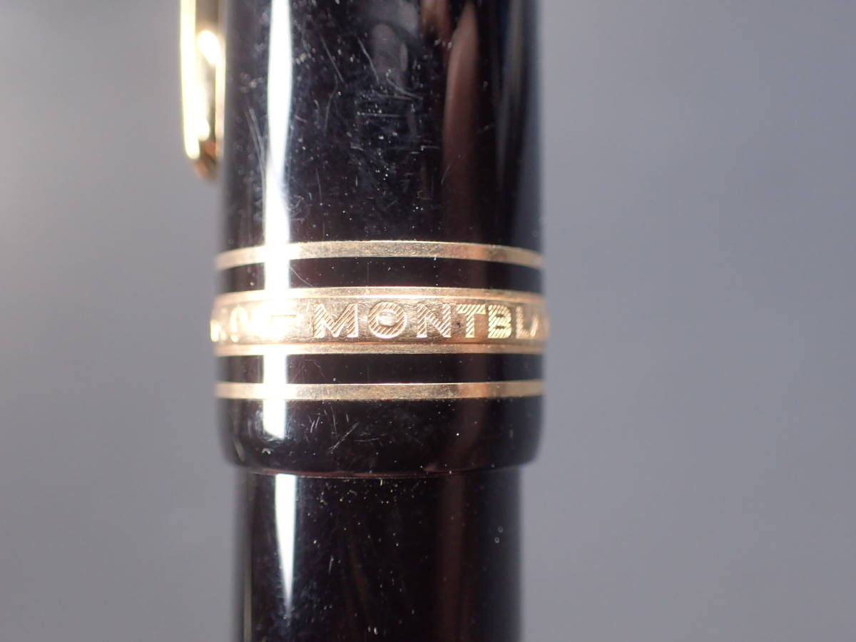 MONTBLANC 4810 18K 750 No.149 モンブラン 箱付 万年筆 黒 _画像5