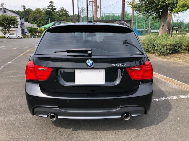 BMW335iツーリング Mスポーツパッケージ サンルーフ 黒レザー HDDナビ フルセグTV アドバンレーシング19インチアルミ_画像6