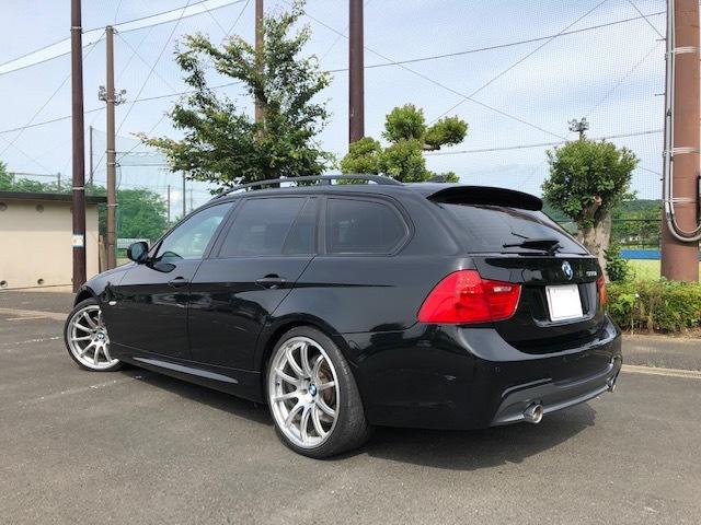 BMW335iツーリング Mスポーツパッケージ サンルーフ 黒レザー HDDナビ フルセグTV アドバンレーシング19インチアルミ_画像5