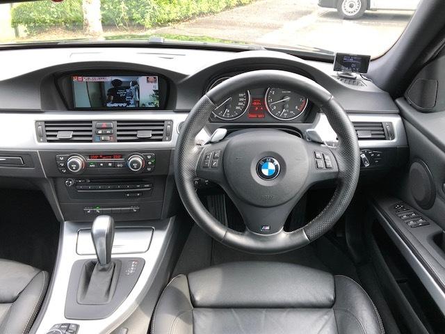 BMW335iツーリング Mスポーツパッケージ サンルーフ 黒レザー HDDナビ フルセグTV アドバンレーシング19インチアルミ_画像10