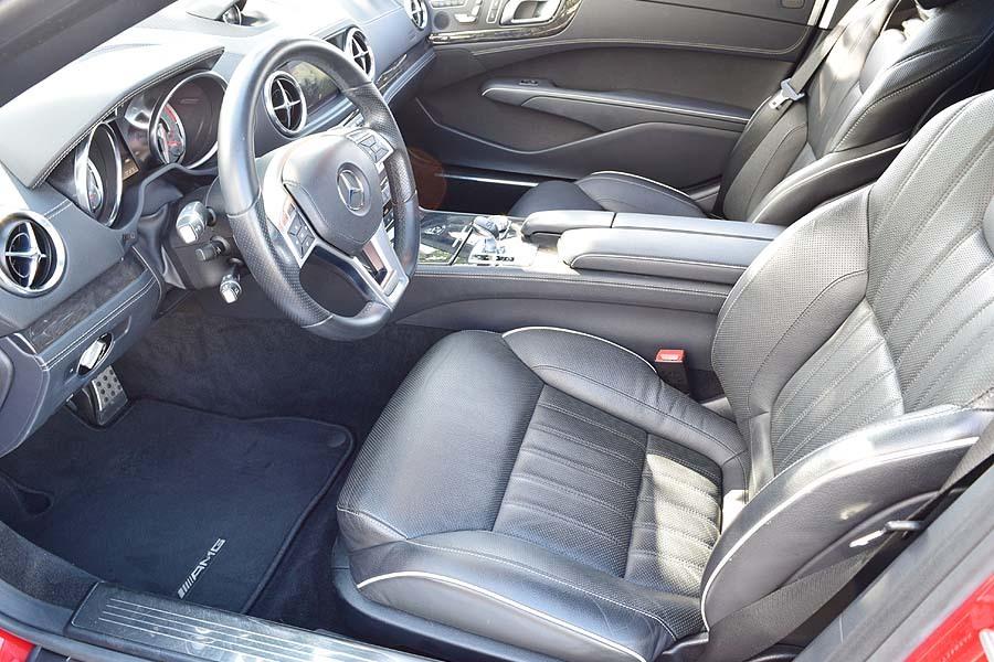 ガレージ保管 ディーラー完全メンテナンス済 メルセデスベンツSL350BE AMGスポーツP 最高級ロードスター 是非現車確認如何ですか?_出品中の現車確認も可能です。