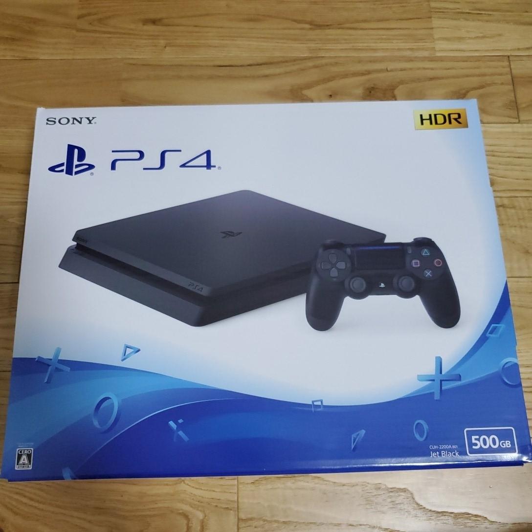 未使用新品 PlayStation4 PS4 プレイステーション4本体