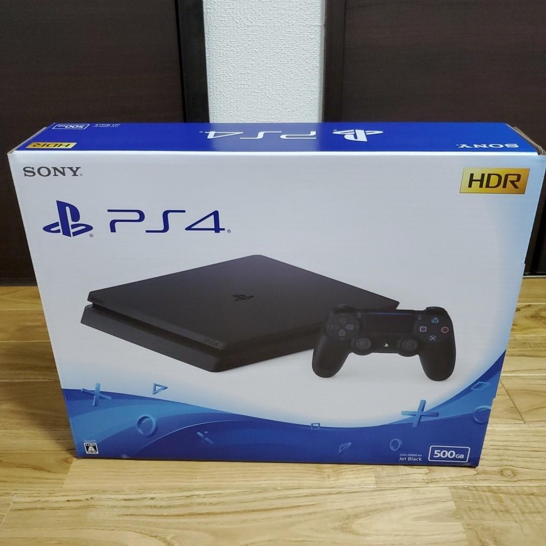 未使用新品 PlayStation4 PS4 プレイステーション4本体_画像2
