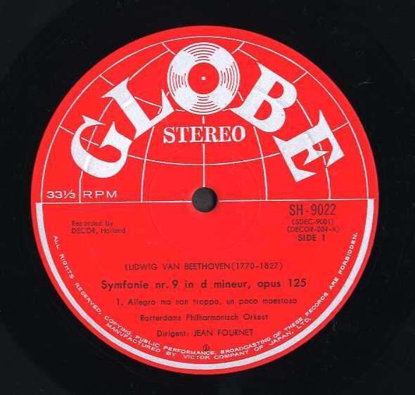 19068◆2LP*フルネ/ベートーヴェン:交響曲第8&9番合唱/ステレオ!!_画像4