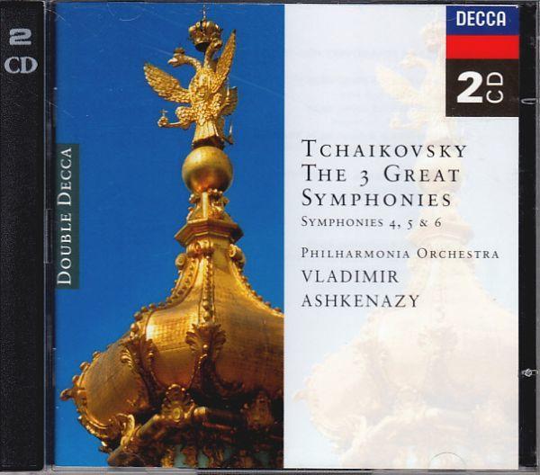 6/16# 2CD*アシュケナージ/チャイコフスキー:交響曲第4,5,6番 悲愴