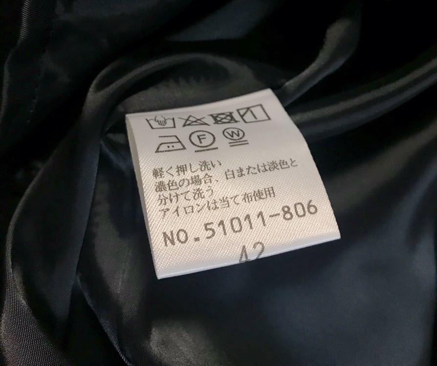 サイズ42 ローズティアラ ボリュームスリーブワンピース 新品タグ付き 定価22,680円_画像7