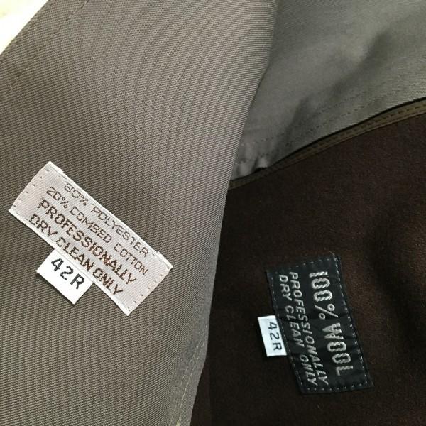 651 クリスチャンディオール Chiristian Dior MONSIEUR トレンチコート グレー 42 ビンテージ グレージュ メンズ L~XL ロゴ ライナー_画像9