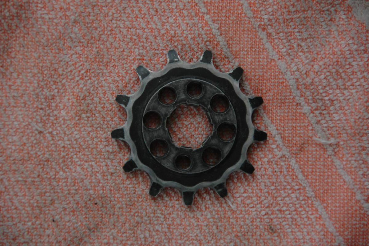 ドリーム50 HRCフロントスプロケット 415 3枚 中古品_画像3