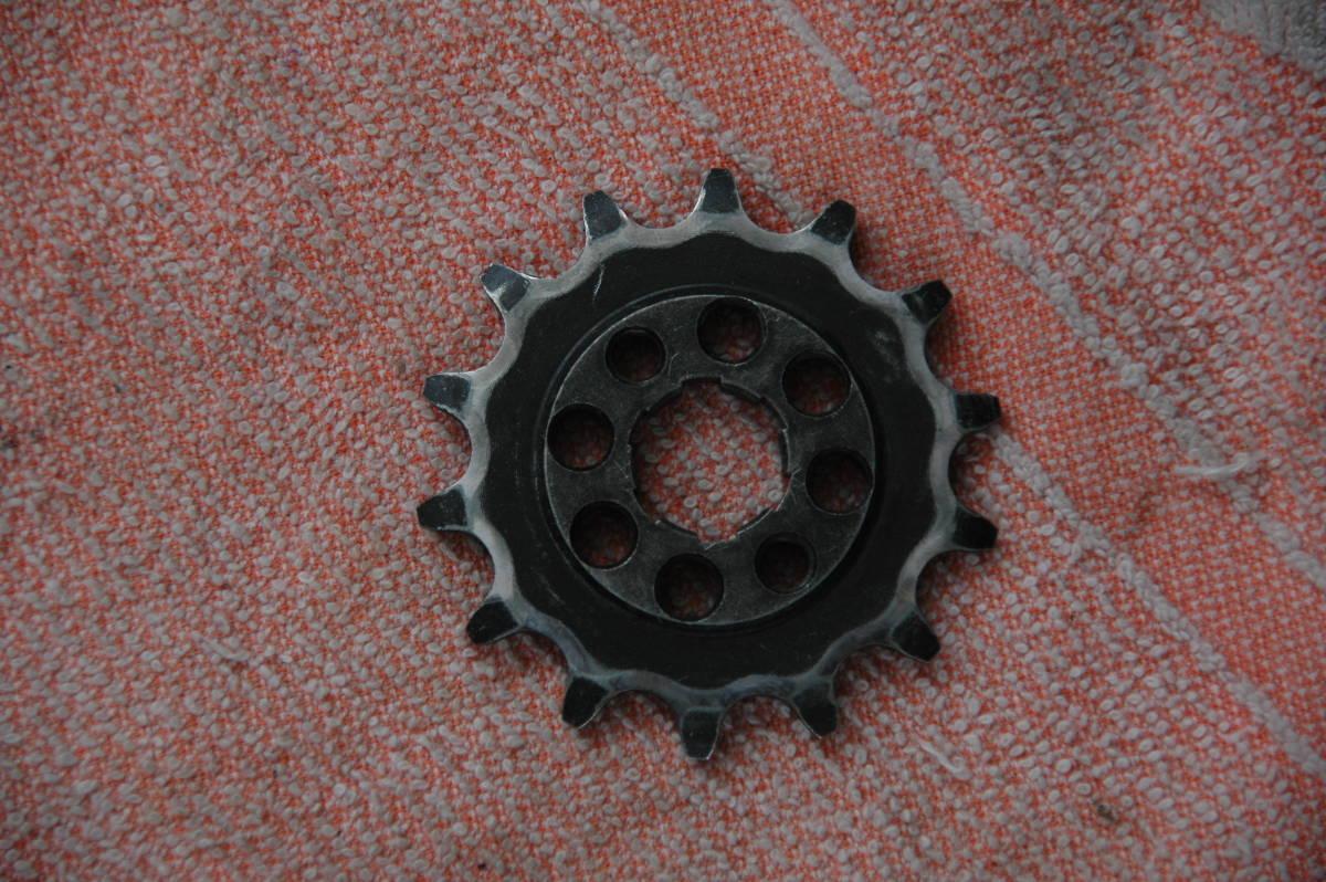 ドリーム50 HRCフロントスプロケット 415 3枚 中古品_画像5