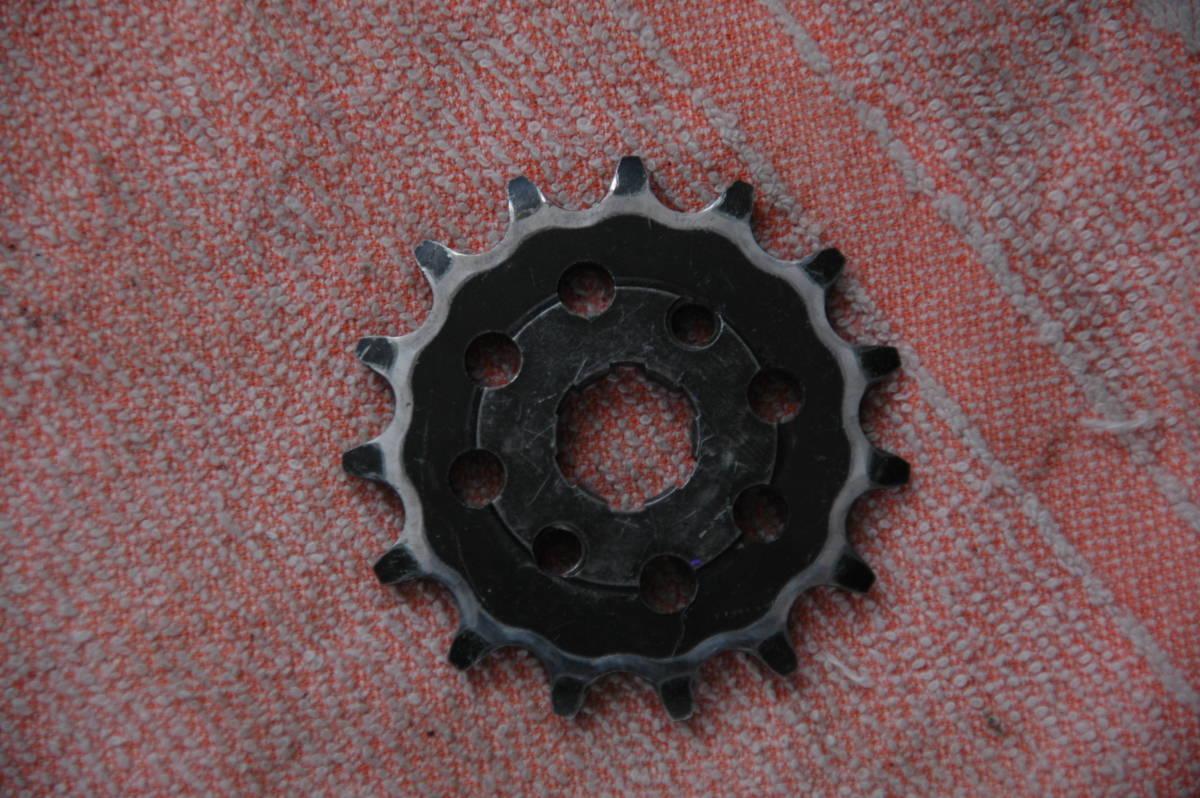 ドリーム50 HRCフロントスプロケット 415 3枚 中古品_画像7