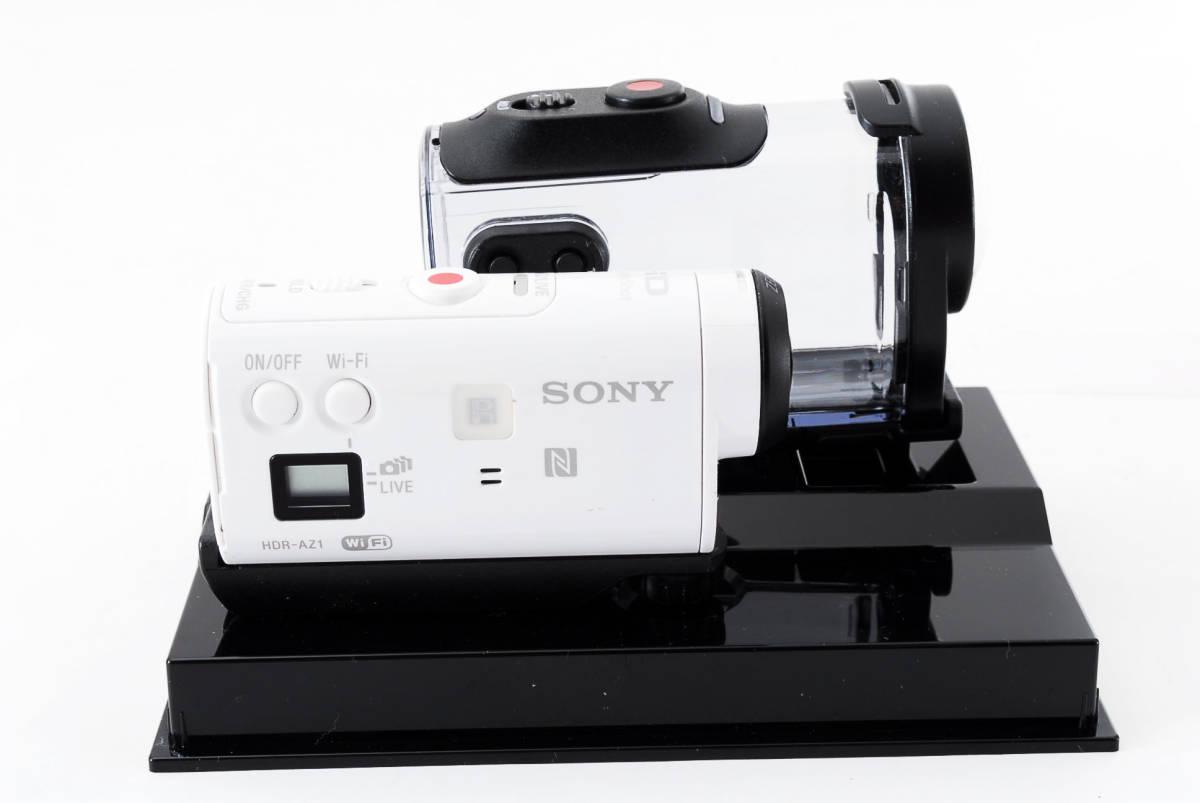 ☆良品☆ SONY ソニー デジタルビデオカメラ アクションカム HDR-AZ1VR ライブビューリモコン付 #19620_画像4