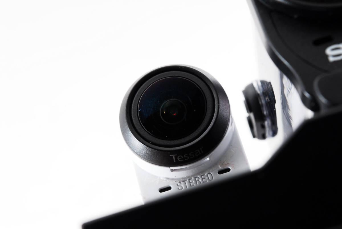 ☆良品☆ SONY ソニー デジタルビデオカメラ アクションカム HDR-AZ1VR ライブビューリモコン付 #19620_画像6