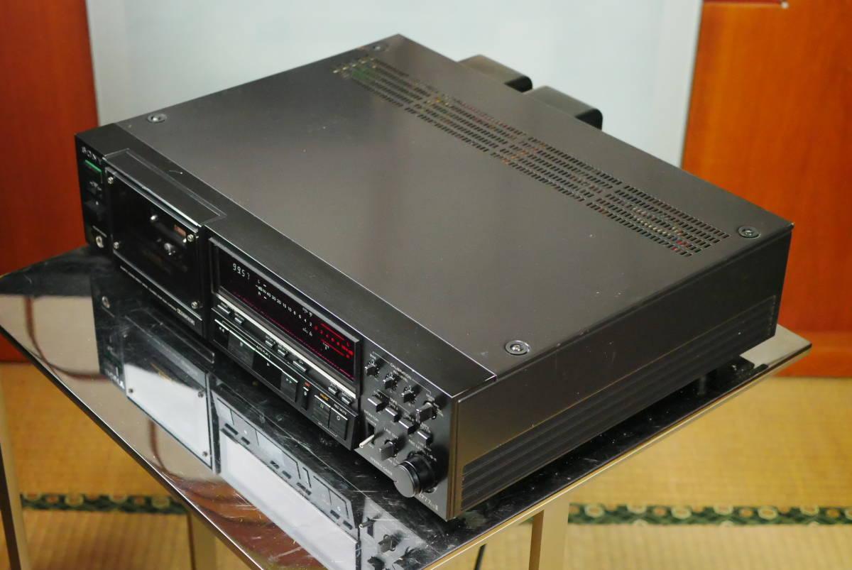 SONY ソニー TC-K777ESⅡ カセットデッキ ソニーの最高峰モデル! メンテナンス済み! 音質良好の美品! 取説付!_調子も良く抜群の音質!