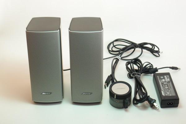 BOSE Companion20 コントロールポッド用外部入力拡張ユニット付き マルチメディア アクティブスピーカー 難有り 送料無料