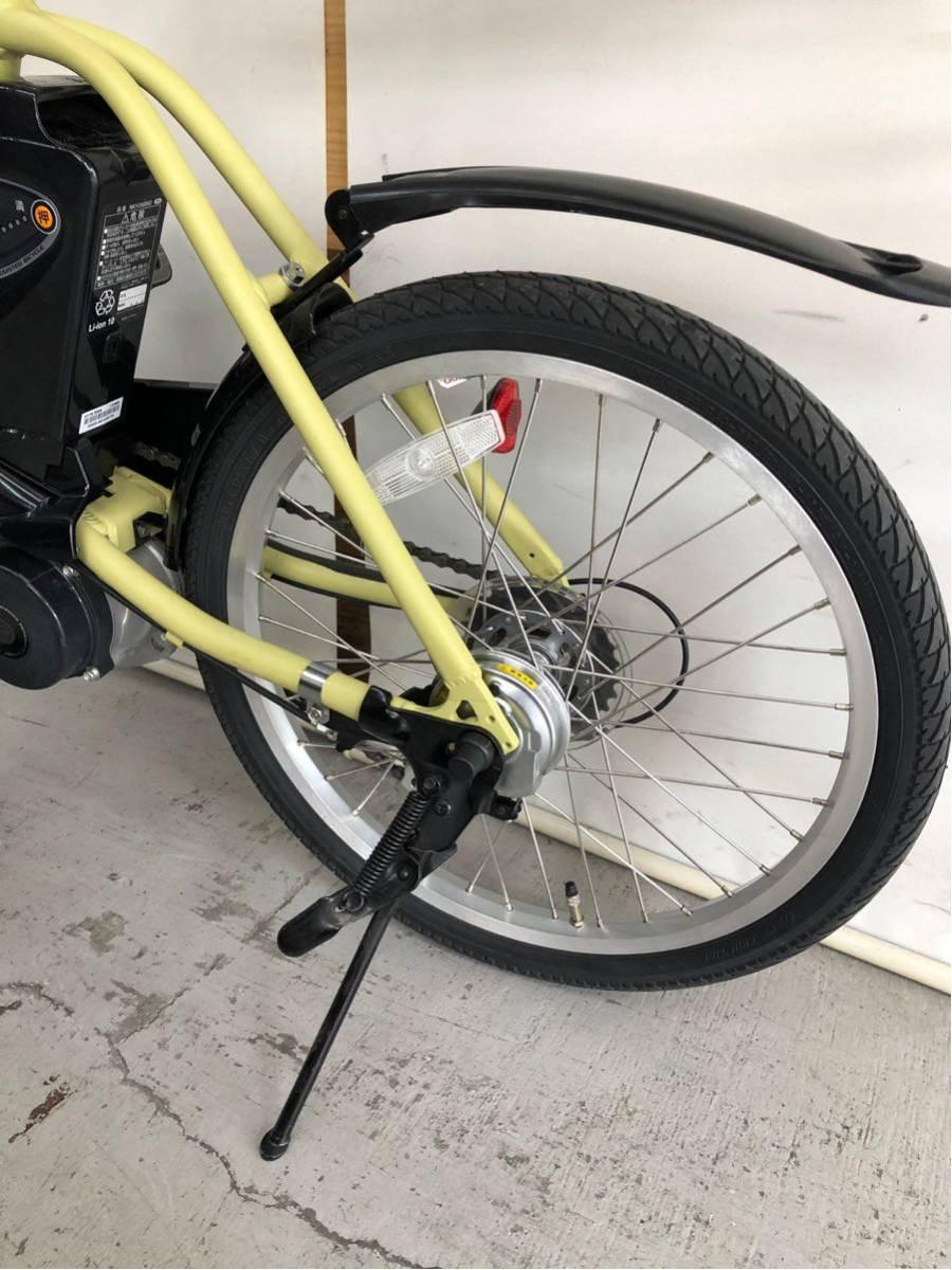 605 パナソニック オフタイム 5ah 折り畳み 電動自転車 電動アシスト 新基準 中古_画像9