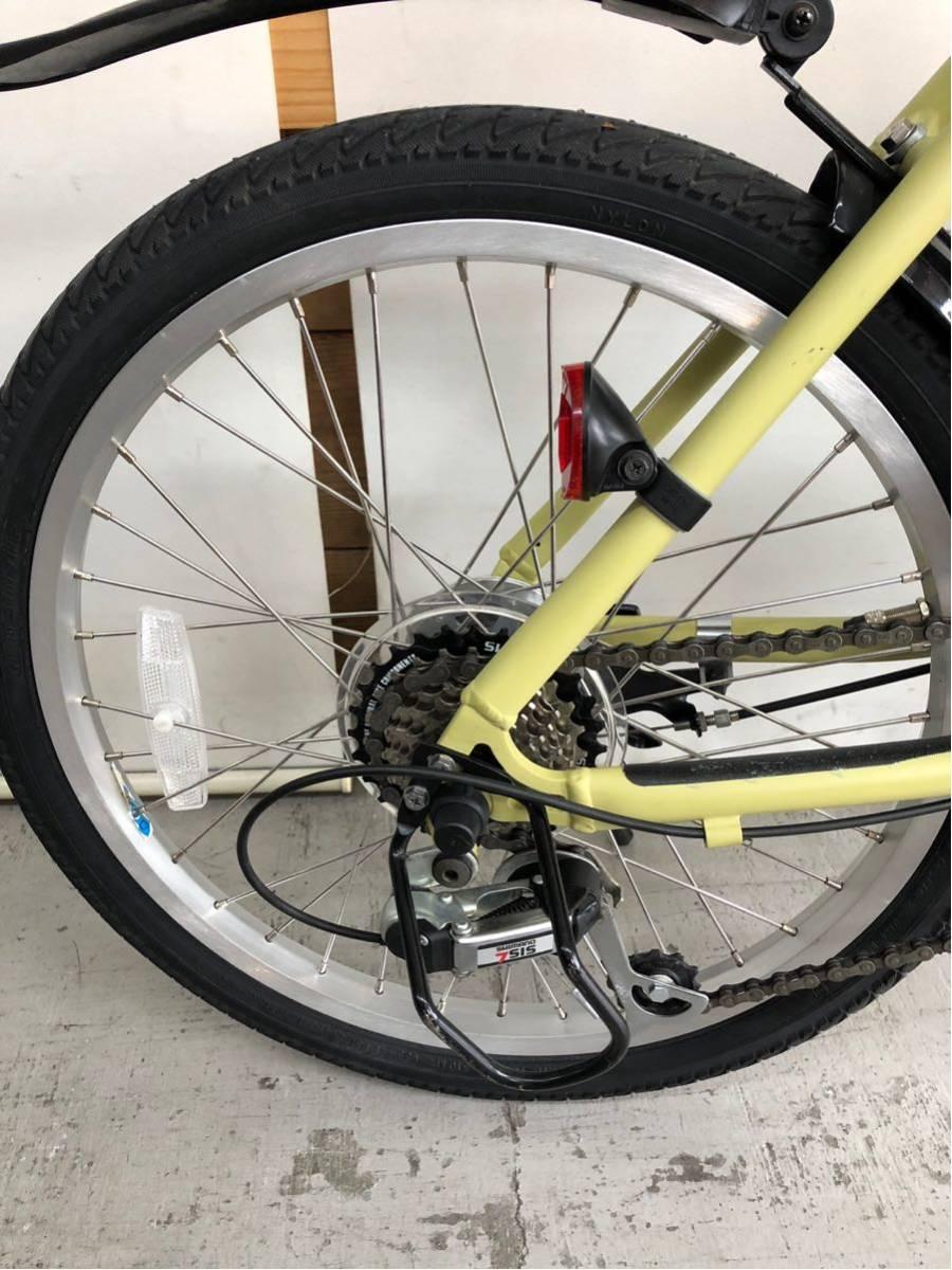 605 パナソニック オフタイム 5ah 折り畳み 電動自転車 電動アシスト 新基準 中古_画像7