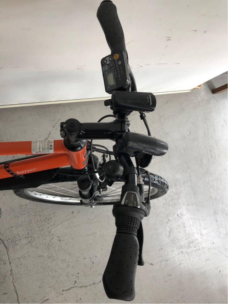 パナソニック ハリヤー hurryer 26インチ カスタム リミッターカット 中古 電動自転車 電動アシスト_画像3