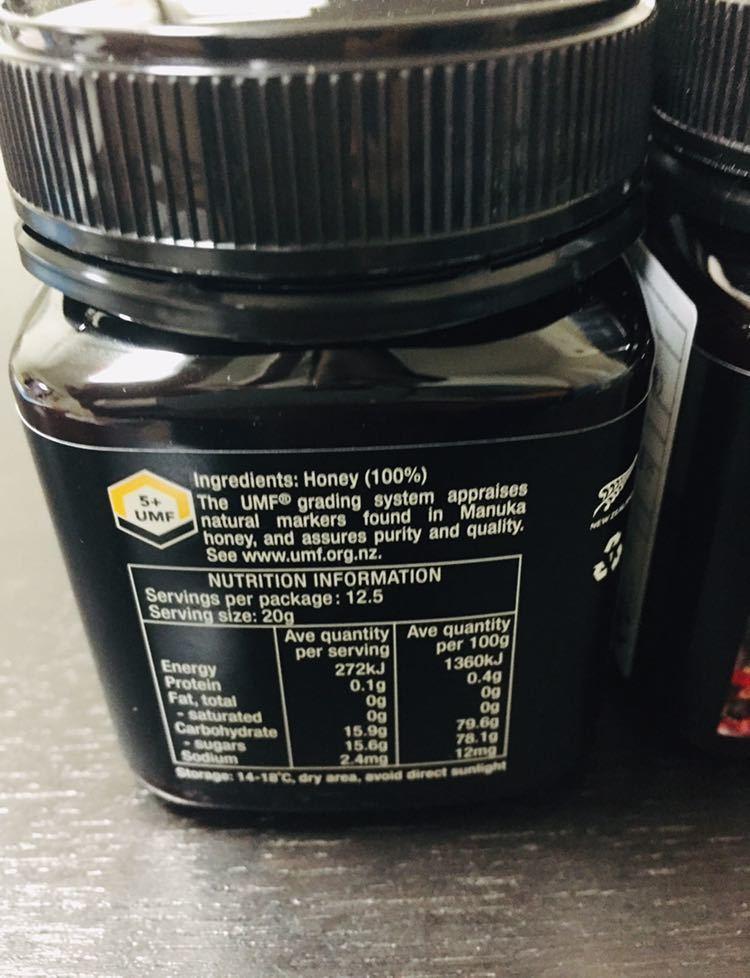 マヌカハニー 水谷養蜂園 UMF5+ 新品 10個セット はちみつ ハチミツ ニュージーランド 250g_画像2
