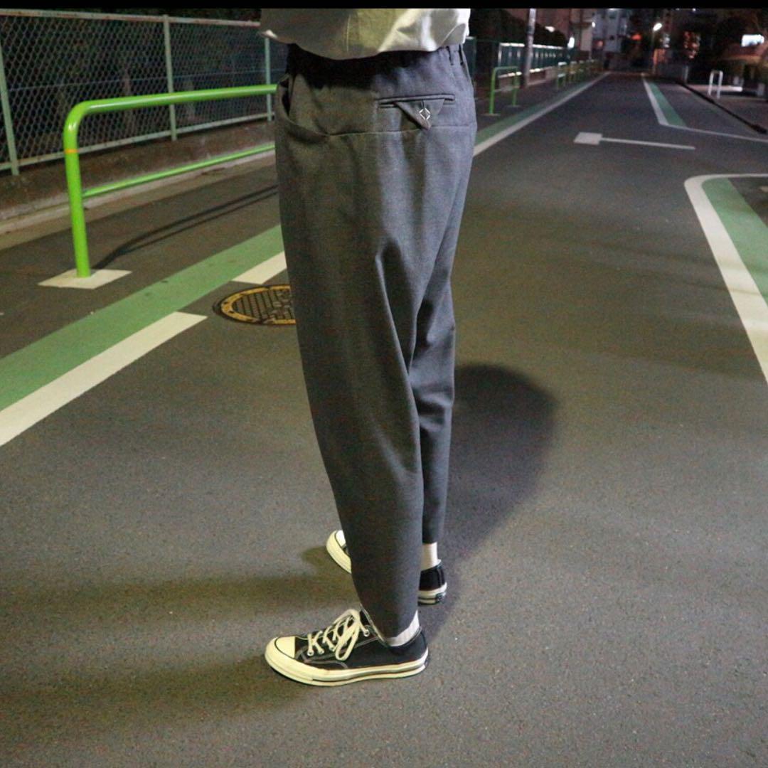 SUNSEA SNM-G-Pants Charcoal Gray (検 min nano 1ldk) _画像3