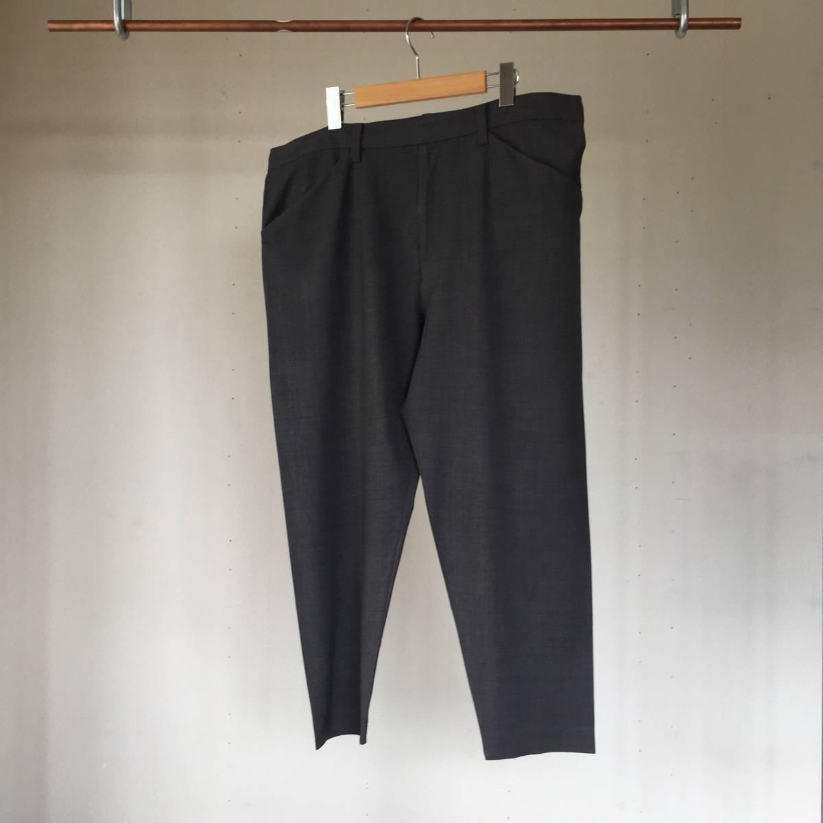 SUNSEA SNM-G-Pants Charcoal Gray (検 min nano 1ldk) _画像5