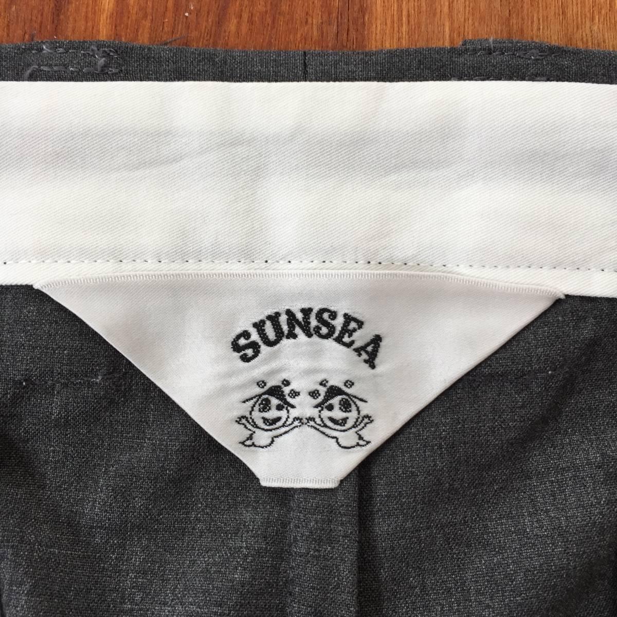 SUNSEA SNM-G-Pants Charcoal Gray (検 min nano 1ldk) _画像6