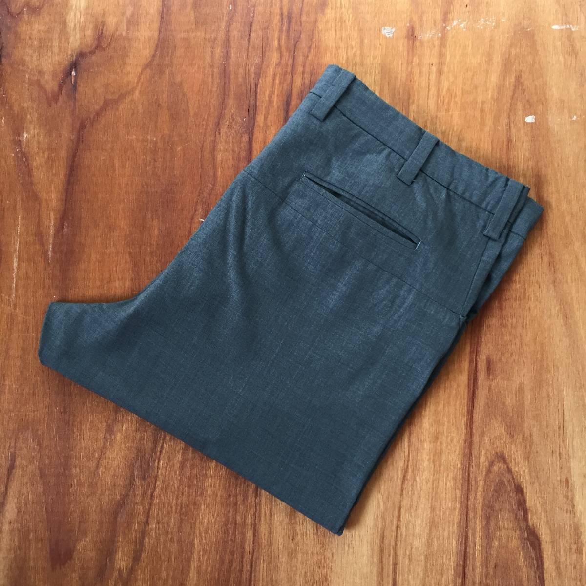 SUNSEA SNM-G-Pants Charcoal Gray (検 min nano 1ldk) _画像8