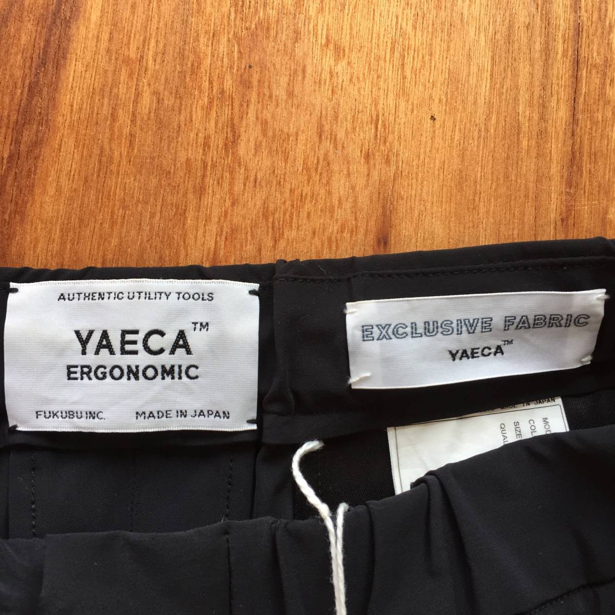 YAECA ERGONOMIC 14610 2WAY WIDE PANTS (検 1ldk) _画像5