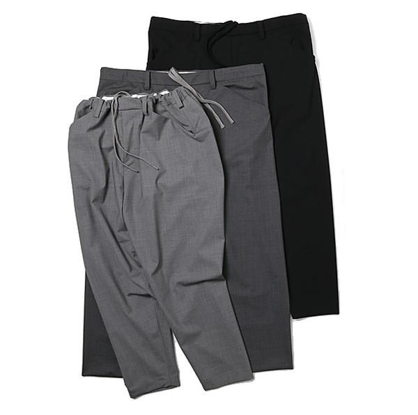 SUNSEA SNM-G-Pants Charcoal Gray (検 min nano 1ldk)