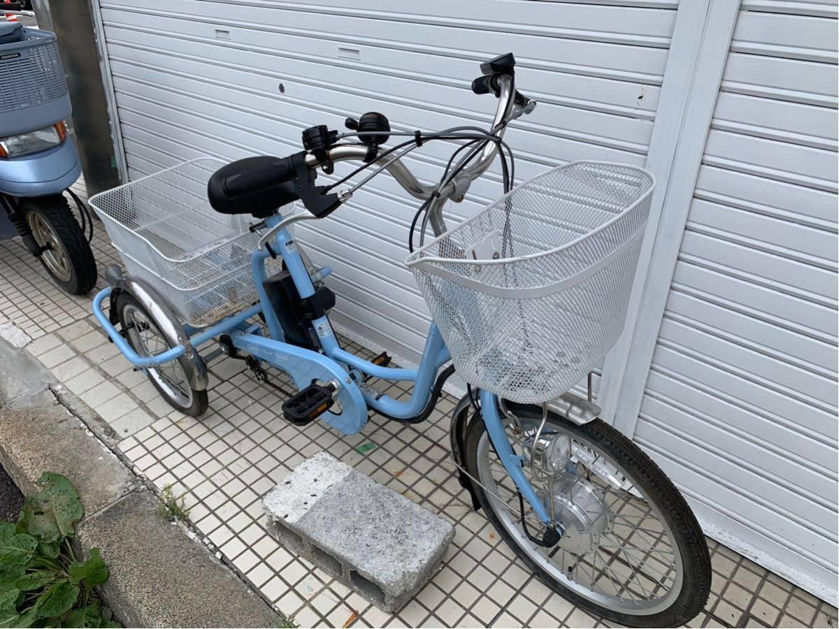 ミムゴ 電動アシスト3輪自転車 アシらくチャーリー MG-TRM20EB _画像2