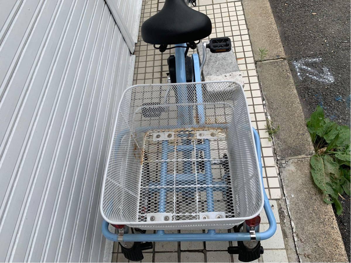 ミムゴ 電動アシスト3輪自転車 アシらくチャーリー MG-TRM20EB _画像3