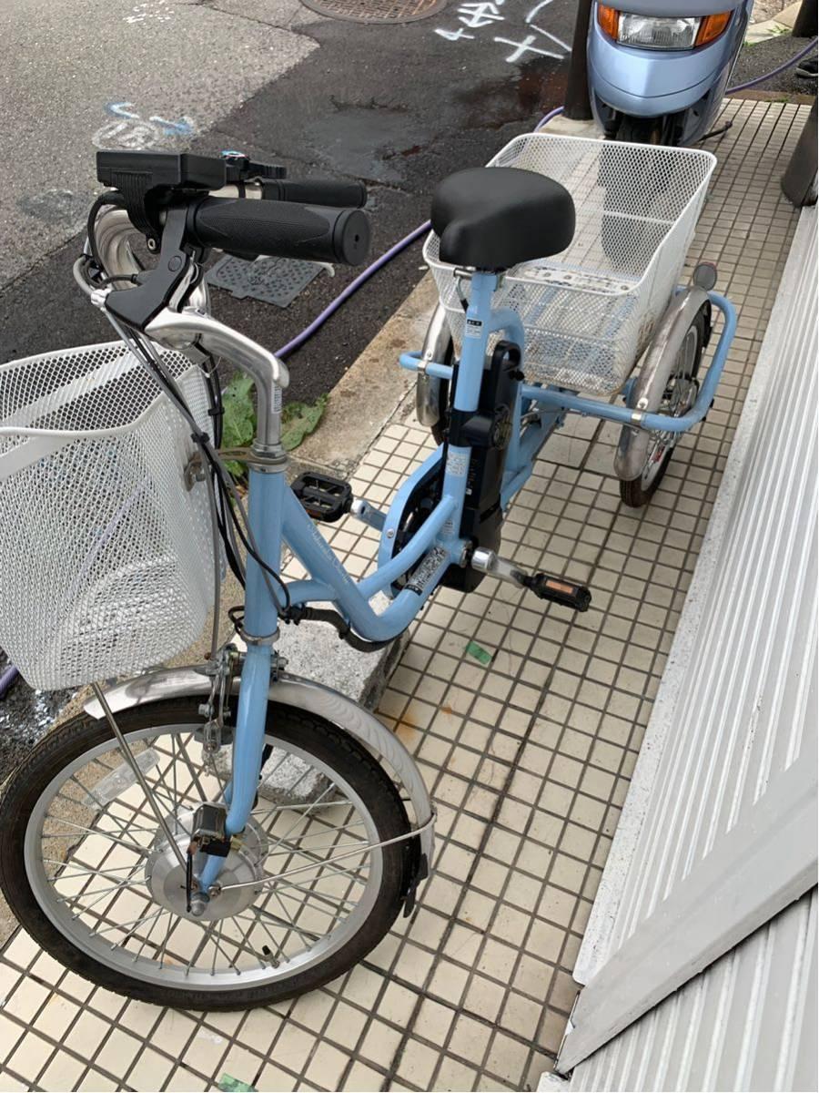 ミムゴ 電動アシスト3輪自転車 アシらくチャーリー MG-TRM20EB _画像6