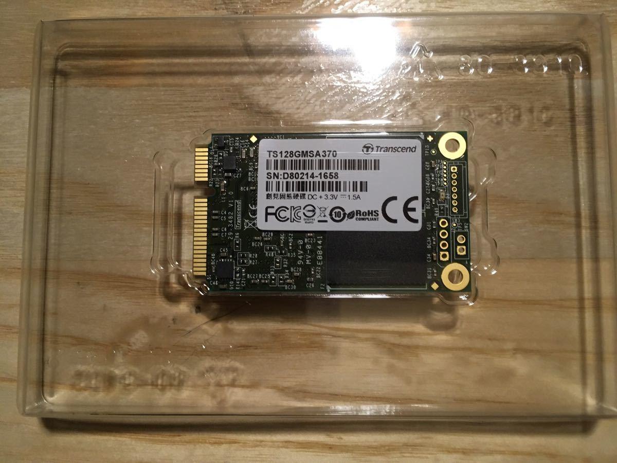Transcend SSD 128GB mSATA3 6Gb/s TS128GMSA370 vaio DUO11_画像3